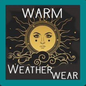 tank tops, shorts, sun dresses +